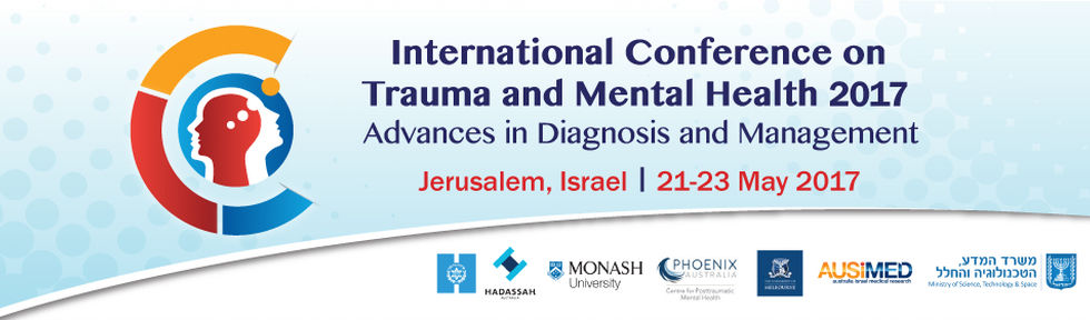 International Conference On Trauma And Mental Health, Jerusalem, Israel